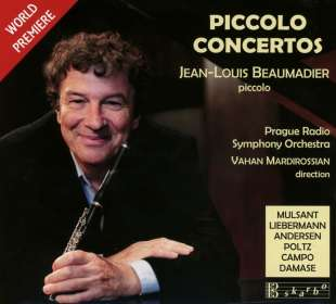 Jean-Louis Beaumadier - Piccolo Concertos, CD
