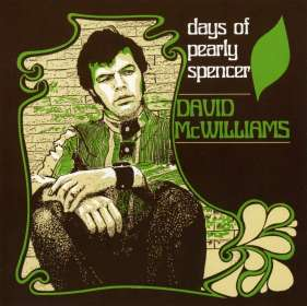 David McWilliams: Days Of Pearly Spencer, CD