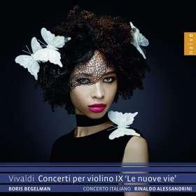 """Antonio Vivaldi (1678-1741): Violinkonzerte RV 194,211,281,283,346,365 - """"Le Nuove Vie"""", CD"""