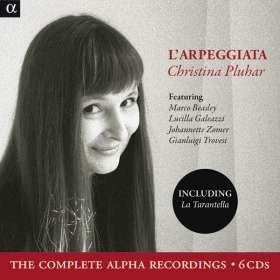 L'Arpeggiata & Christina Pluhar - Complete Alpha-Recordings, CD