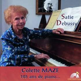 Colette Maze - 105 Ans de Piano, CD