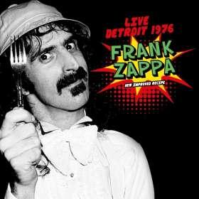 Frank Zappa (1940-1993): Live Detroit 1976, CD