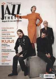 Zeitschriften: Jazzthetik - Magazin für Jazz und Anderes September/Oktober 2021, ZEI