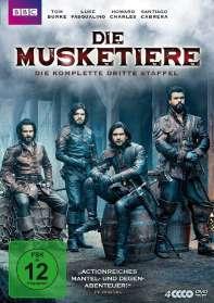 Die Musketiere Staffel 3 (finale Staffel), DVD