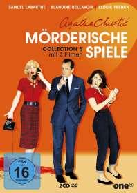 Oliver Panchot: Agatha Christie: Mörderische Spiele Collection 5, DVD