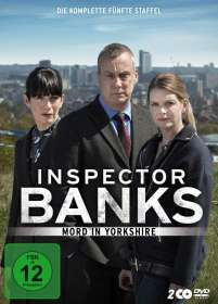 David Richards: Inspector Banks Staffel 5 (finale Staffel), DVD