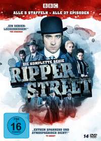 Tom Shankland: Ripper Street (Komplette Serie), DVD