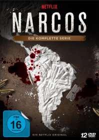 Andres Baiz: Narcos (Komplette Serie), DVD
