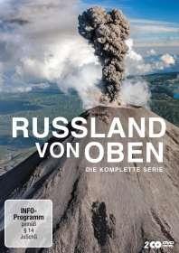 Petra Höfer: Russland von oben (Komplette Serie), DVD