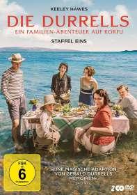 Steve Barron: Die Durrells Staffel 1, DVD