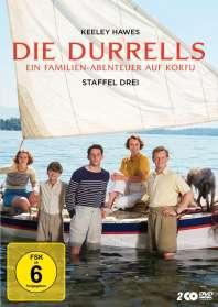 Niall MacCormick: Die Durrells Staffel 3, DVD