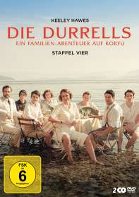Niall MacCormick: Die Durrells Staffel 4 (finale Staffel), DVD