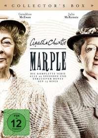 John Strickland: Agatha Christie: Marple (Komplette Serie), DVD