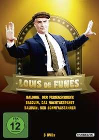 Louis de Funès - Balduin Collection, DVD