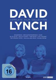 David Lynch: David Lynch (Complete Film Collection), DVD