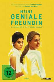 Saverio Costanzo: Meine geniale Freundin Staffel 2, DVD