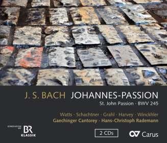 Johann Sebastian Bach (1685-1750): Johannes-Passion BWV 245, CD