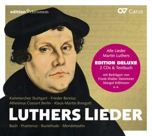 Luthers Lieder, CD