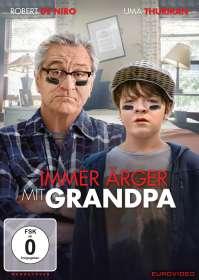 Tim Hill: Immer Ärger mit Grandpa, DVD
