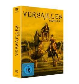 Daniel Roby: Versailles Staffel 1-3, DVD