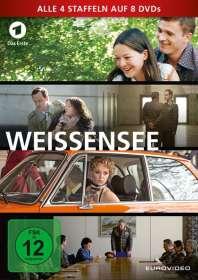 Friedemann Fromm: Weissensee Staffel 1-4, DVD