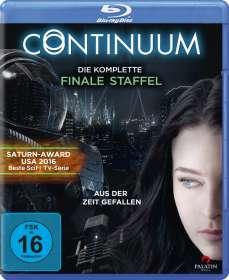 Pat Williams: Continuum Staffel 4 (finale Staffel) (Blu-ray), BR