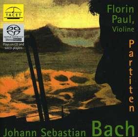 Johann Sebastian Bach (1685-1750): Partiten für Violine BWV 1002,1004,1006, SACD
