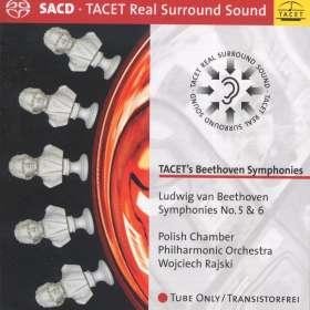 Ludwig van Beethoven (1770-1827): Symphonien Nr.5 & 6, SACD
