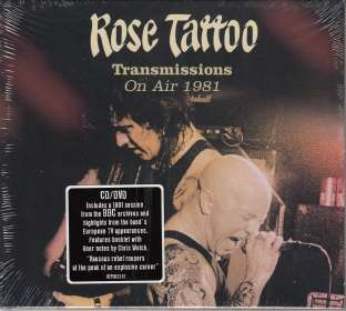 Rose Tattoo: On Air In '81, CD