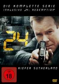 24 (Komplette Serie inkl. 24: Redemption), DVD