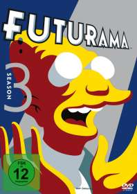 Futurama Staffel 3, DVD