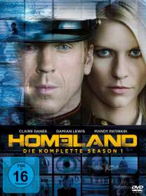 Homeland Staffel 1, DVD