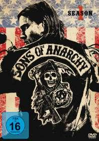 Sons Of Anarchy Staffel 1, DVD
