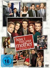 How I Met Your Mother Season 1-9, DVD