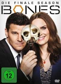 Bones - Die Knochenjägerin Staffel 12 (finale Staffel), DVD