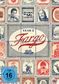 Ethan Coen: Fargo Staffel 3, DVD