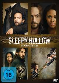 Sleepy Hollow (Komplette Serie), DVD