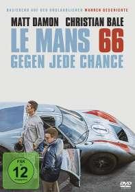 James Mangold: Le Mans 66 - Gegen jede Chance, DVD