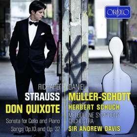 Richard Strauss (1864-1949): Sonate für Cello & Klavier op.6, CD