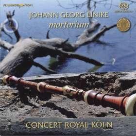 Johann Georg Linike (1680-1762): Mortorium - Kammermusik und Concerti für Bläser, SACD