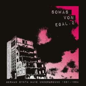 Sowas von egal 2 (German Synth Wave Underground 1981-1984), CD
