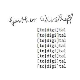 Gunther Wüsthoff: Total Digital, CD