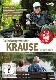 Bernd Böhlich: Polizeihauptmeister Krause (8 Filme), DVD