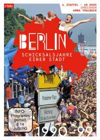 Berlin - Schicksalsjahre einer Stadt Staffel 4 (1990-1999), DVD