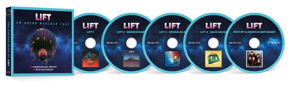 Lift: Am Abend mancher Tage - Die Original Alben + Bonus, CD