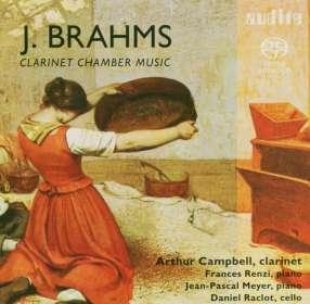 Johannes Brahms (1833-1897): Klarinettentrio op.114, SACD