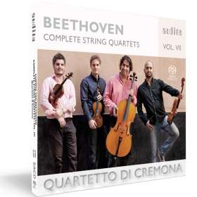 Ludwig van Beethoven (1770-1827): Sämtliche Streichquartette Vol.7, SACD