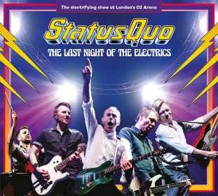 Status Quo: The Last Night Of The Electrics, CD