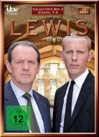 Biran Kelly: Lewis: Der Oxford Krimi Staffel 7-9, DVD