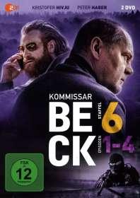 Marten Klingberg: Kommissar Beck Staffel 6 Episode 1-4, DVD